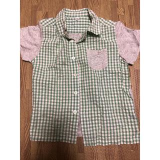 ムジルシリョウヒン(MUJI (無印良品))の無印良品 シャツ 110(Tシャツ/カットソー)