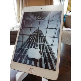 アイパッド(iPad)の iPad mini4 ミニ4世代 Cellularモデル(タブレット)