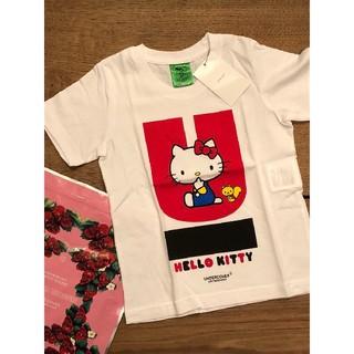 アンダーカバー(UNDERCOVER)のUNDER COVER kidsTシャツ サイズ90 キティコラボ(Tシャツ/カットソー)