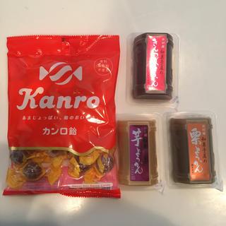 イムラヤ(井村屋)のカンロ飴 芋ようかん 井村屋 栗ようかん きんつばようかん(菓子/デザート)