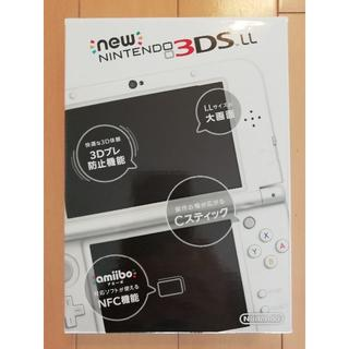ニンテンドー3DS(ニンテンドー3DS)のNEWニンテンドー3DS LL パールホワイト(携帯用ゲーム本体)