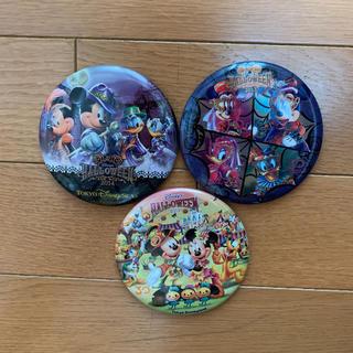 ディズニー(Disney)のディズニーハロウィン缶バッチ(キャラクターグッズ)