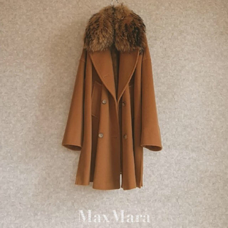 マックスマーラ(Max Mara)のMAX MARA リアルファーコート(毛皮/ファーコート)
