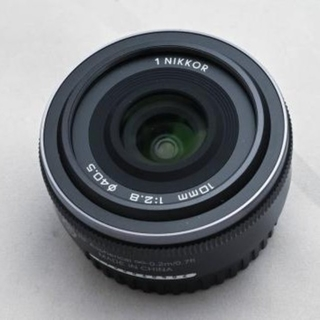 Nikon - 1 Nikon NIKKOR 10mm f/2.8 + ワイコン ML-1