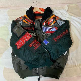 バレンシアガ(Balenciaga)のVETEMENTS 18FW bomber jacket ヴェトモン ボンバー(ブルゾン)
