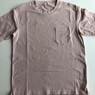 ジーユー(GU)のGU  ヘビーウエイトビッグT ピンク(Tシャツ/カットソー(半袖/袖なし))