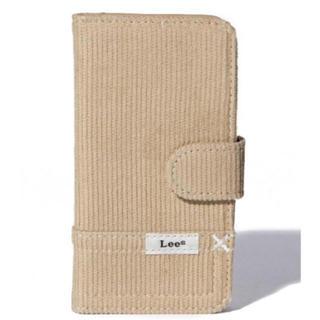 リー(Lee)のLee サミールナスリ コラボ iPhone8/7/6sケース デニム ベージュ(iPhoneケース)
