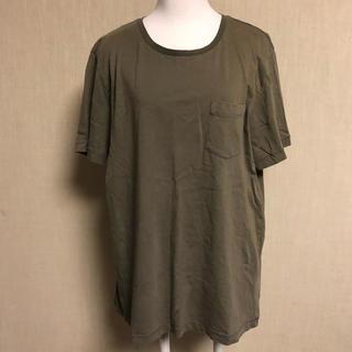 ジーユー(GU)のGU Tシャツ カーキ(Tシャツ/カットソー(半袖/袖なし))