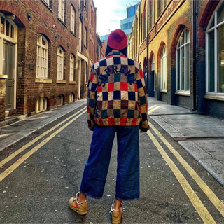 シュプリーム(Supreme)のPatchwork Harrington Jacket(ブルゾン)