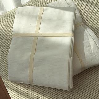 ムジルシリョウヒン(MUJI (無印良品))のMUJI カーテン  約幅100㎝✖️丈103㎝(カーテン)