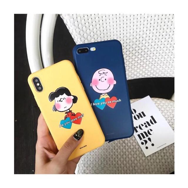 メゾン キツネ iphone x ケース / チャーリーブラウン✳︎iphoneケースの通販 by みみ24's shop|ラクマ