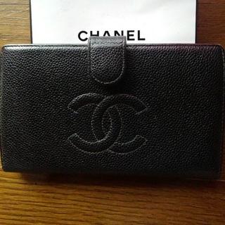 シャネル(CHANEL)のCHANEL がま口長財布(財布)
