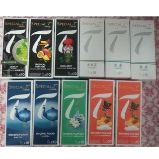 ネスレ(Nestle)のネスレ スペシャルT カプセル8箱 ハーブティー 煎茶 玄米茶 アールグレイ(茶)