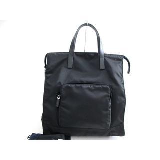 プラダ(PRADA)の美品 新型 プラダ ナイロン2wayバッグ ユニセックス(トートバッグ)