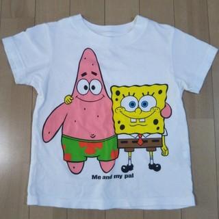 ユニクロ(UNIQLO)のスポンジボブTシャツ 100ユニクロUT(Tシャツ/カットソー)