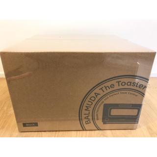 バルミューダ(BALMUDA)の即日発送 BALMUDA バルミューダ トースター ブラック 新品(調理機器)
