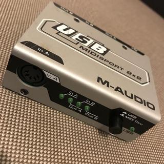 M-Audio MIDISPORT 2x2 動作確認済 USB-MIDI(MIDIコントローラー)