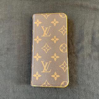 ルイヴィトン(LOUIS VUITTON)のLOUIS VUITTON IPHONE 6PLUS 7PLUS FOLIO(iPhoneケース)