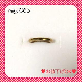 ❤️最終価格❤️指輪 リング イエローゴールド 1号(リング(指輪))