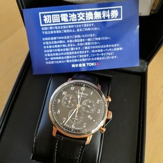 ツェッペリン(ZEPPELIN)の新品 ツェッペリン zeppelin クオーツ クロノグラフ(腕時計(アナログ))