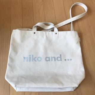 ニコアンド(niko and...)のniko and トートバッグ(トートバッグ)