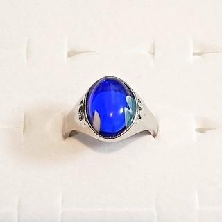 天然石 ブルー リング(リング(指輪))