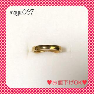 【最終セール】指輪 リング イエローゴールド 5号(リング(指輪))