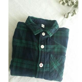 ムジルシリョウヒン(MUJI (無印良品))の美品.MUJI 長袖シャツ 100(Tシャツ/カットソー)