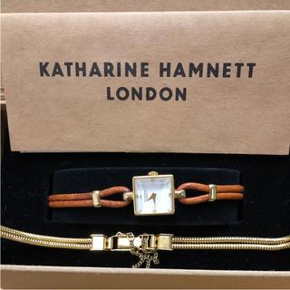 キャサリンハムネット(KATHARINE HAMNETT)のキャサリンハムネット ロンドン 腕時計 2way ウオッチ リストウォッチ 時計(腕時計)