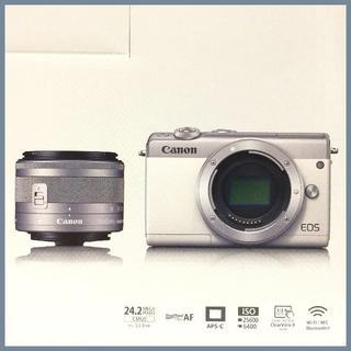 Canon - 未使用開封済み CANON EOS M100 グレー 標準レンズ