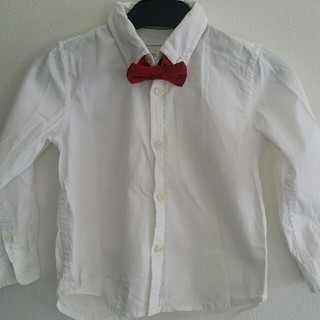 2ba5d7060ee02 ザラキッズ(ZARA KIDS)のZARA Kids 白シャツ 104(ブラウス)