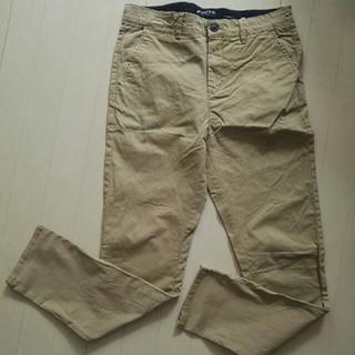 エイチアンドエム(H&M)のH&M 男の子用チノパンツ 綿パンツ ベージュ 170㎝(パンツ/スパッツ)