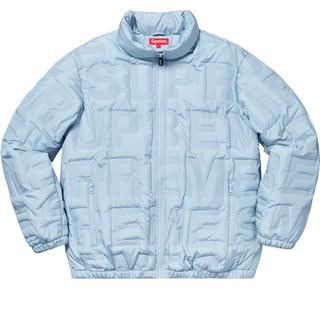シュプリーム(Supreme)のsupreme 19ss Bonded Logo puffy Jacket S(ダウンジャケット)