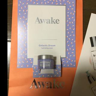 アウェイク(AWAKE)の激レア完全未開封高級AWAKE早い者勝睡眠美容ハリツヤシワ消オイルマスク5g極潤(オールインワン化粧品)