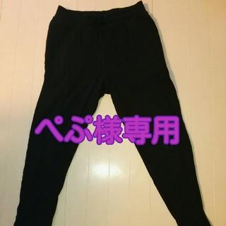 エイチアンドエム(H&M)のH&M 男の子用スエットパンツ スウェットパンツ 黒  170㎝(パンツ/スパッツ)