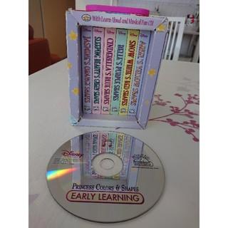 ディズニー(Disney)のDisney Princess 6 Board books & CD 箱無し(洋書)