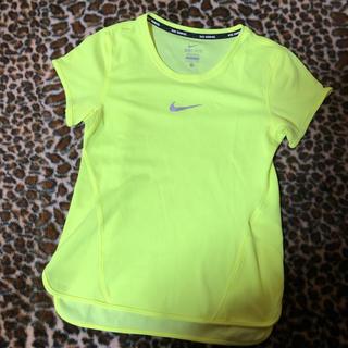 ナイキ(NIKE)のNIKE 蛍光イエロー Tシャツ サイズS(Tシャツ/カットソー(半袖/袖なし))
