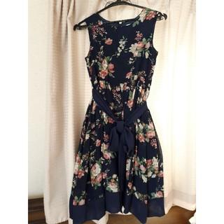 キャサリンコテージ(Catherine Cottage)のキャサリンコテージ フラワーワンピース 150(ドレス/フォーマル)