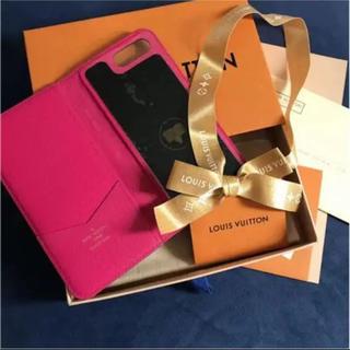 ルイヴィトン(LOUIS VUITTON)のiPhone7プラス、8プラスケース(iPhoneケース)
