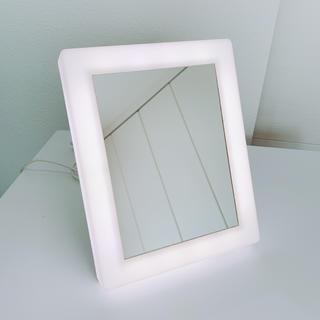 ムジルシリョウヒン(MUJI (無印良品))の無印良品 LEDアクリルミラー(卓上ミラー)