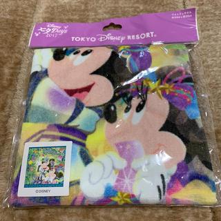 ディズニー(Disney)のディズニーランド☆七夕☆ウォッシュタオル(タオル)