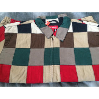 シュプリーム(Supreme)のsupreme patchwork harrington jacket(ブルゾン)
