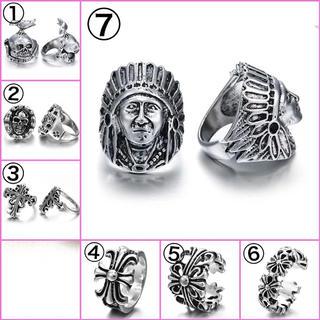 デザインクロス、骸骨、インディアンリング指輪(リング(指輪))