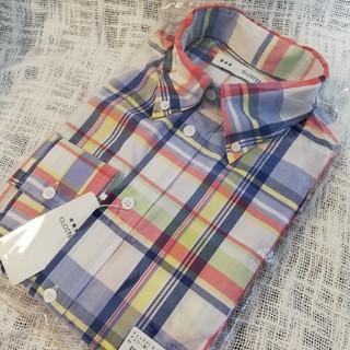フレディアンドグロスター(FREDY & GLOSTER)のメンズ チェックシャツ マルチカラー パステルカラー(シャツ)