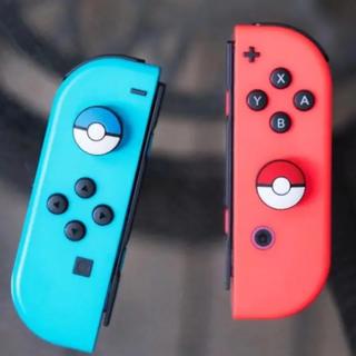 ニンテンドースイッチ(Nintendo Switch)のNintendo Switch★ジョイコン ボタンキャップ★ポケモン(家庭用ゲームソフト)