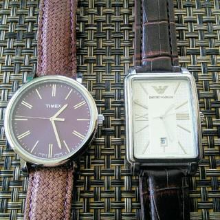アルマーニ(Armani)のARMANI TIMEX アルマーニ タイメックス(腕時計(アナログ))