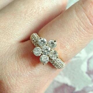 ポンテヴェキオ(PonteVecchio)のポンテヴェキオ 1.42ct ダイヤリング フラワーモチーフ ダイヤモンド(リング(指輪))