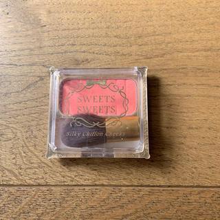 シャンティ(SHANTii)のsweets sweets シルキーシフォンチーク フェイスパウダー(チーク)