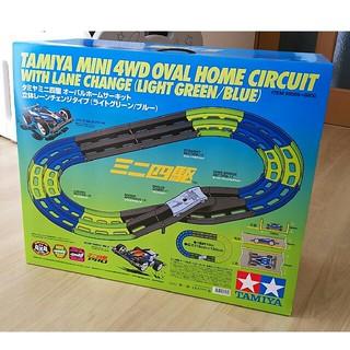 タミヤ ミニ四駆 オーバルホームサーキット 立体レーンチェンジタイプ(模型/プラモデル)