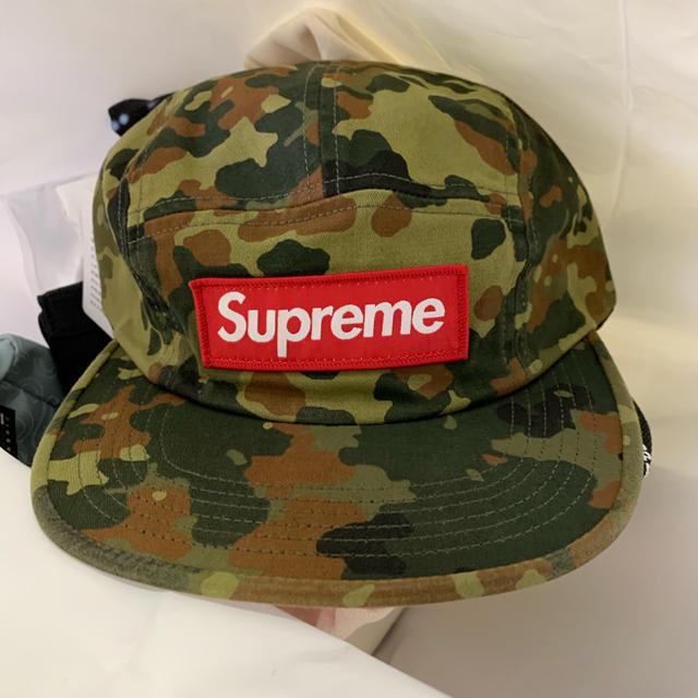 1aa0b115644 Supreme - supreme 19ss military camp cap camo 新品の通販 by フクロウ ...